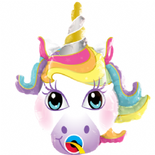 "Magical Unicorn Foil Balloon (14"" Air-Fill) 1pc"